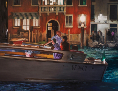 "Exploring Venice Night Scenes, Introducing""Midnight Passing"""