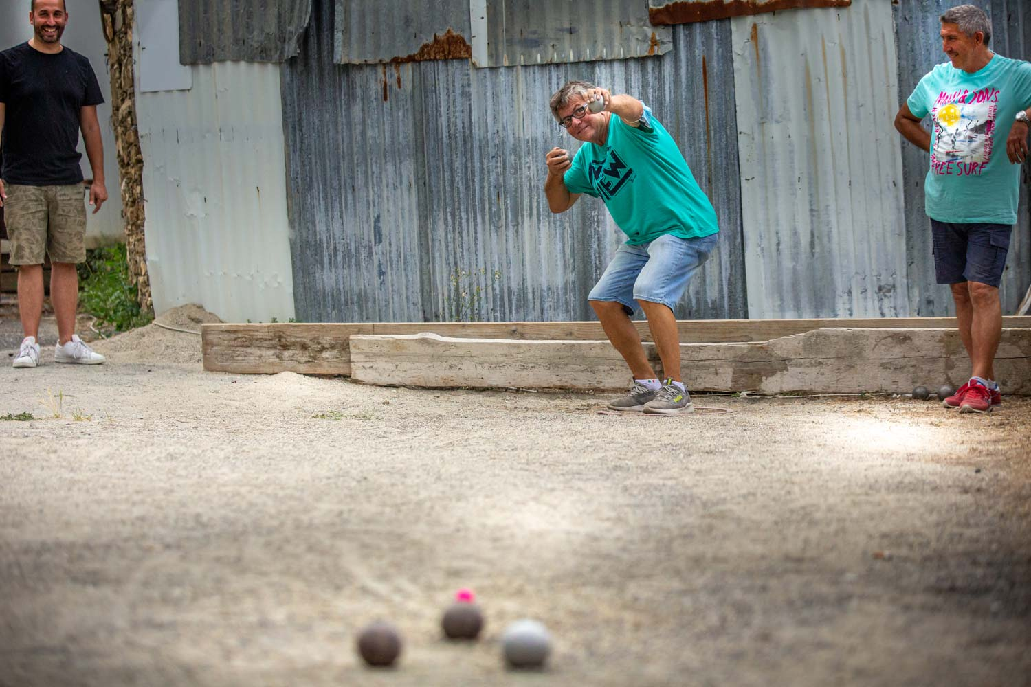 Bocce ball, wood-fired pizza, and generous Italian friends